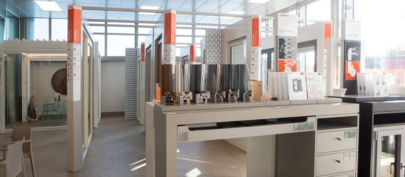 Showroom Finstral Cagliari